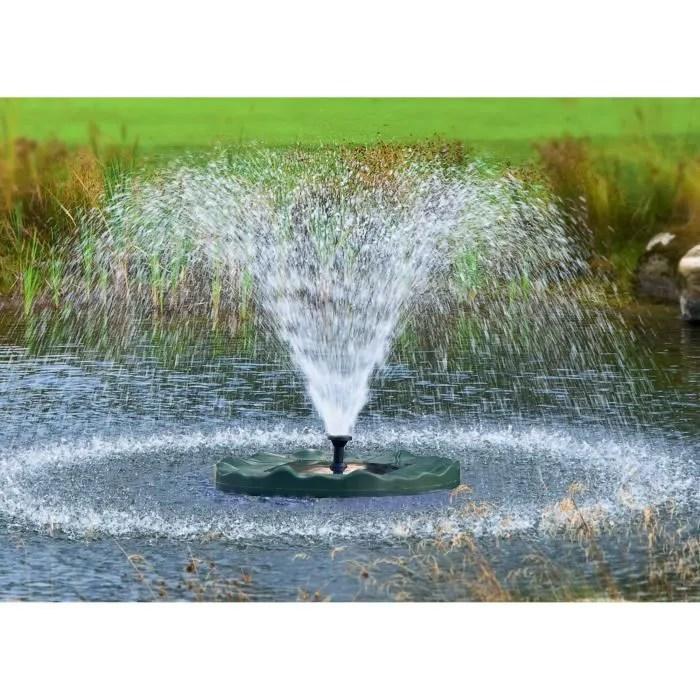 Fontaine Exterieur Energie Solaire