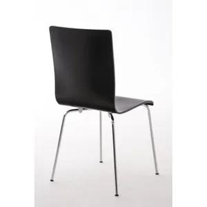 chaise lot de chaises de cuisine en bois noir et mtal with chaise de cuisine en bois