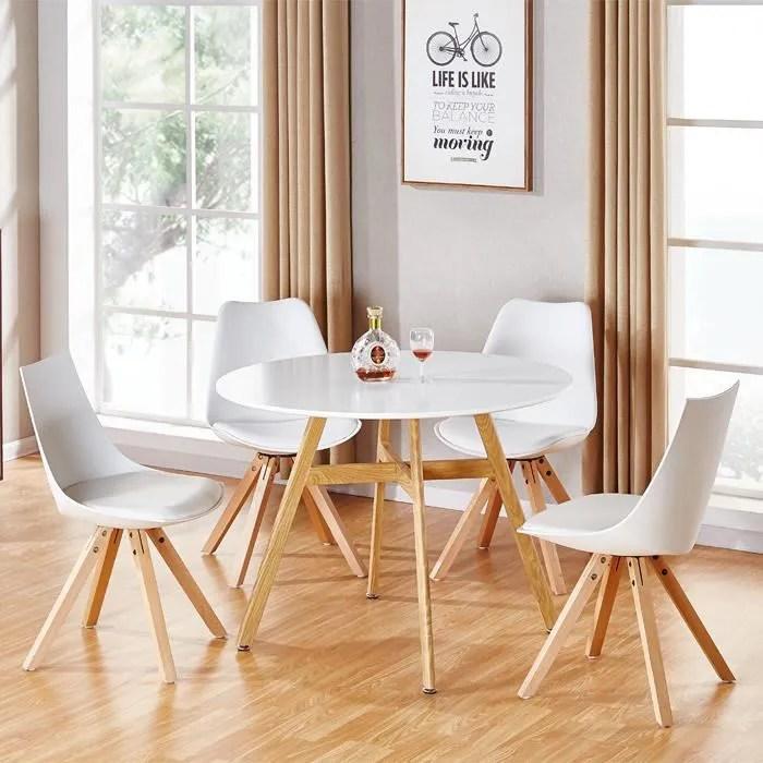 Table De Cuisine Pour Chaise Scandinave  Achat Vente