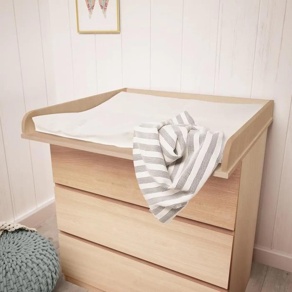 Plan à Langer Polini Kids Pour Commode Ikea Malm Bois