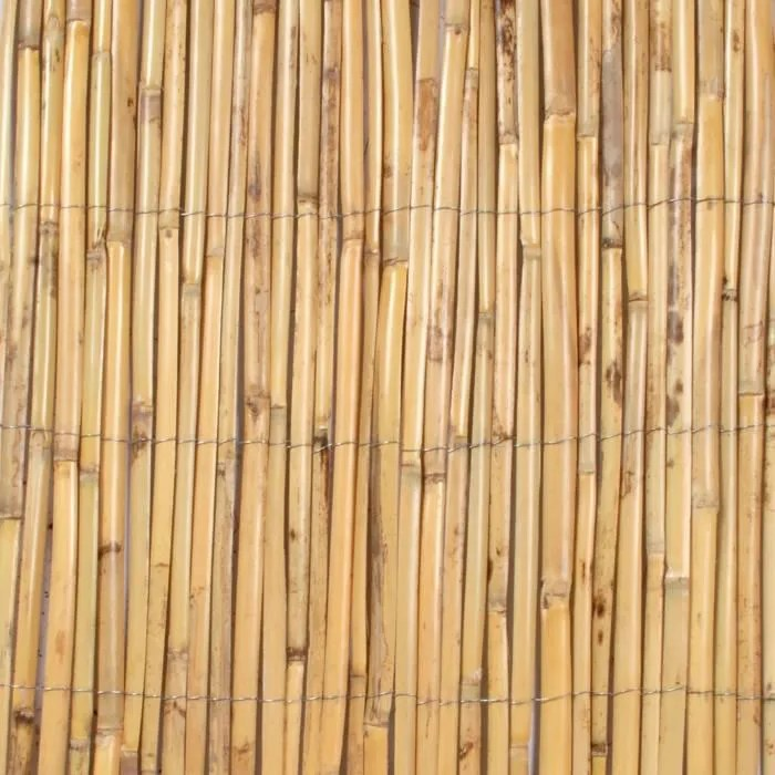 Canisse roseau fendu 1 x 5 m  Achat  Vente clture  grillage Canisse roseau fendu  1 x 5 m