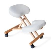 Chaise orthopédique de bureau en bois confortable siège ergonomique stokke varier balans   Achat ...
