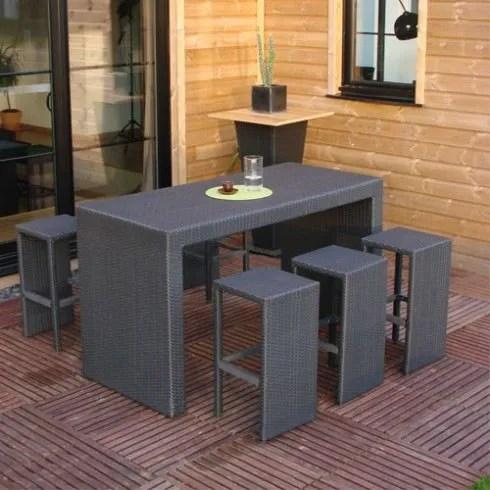 Achat Table Haute De Jardin - Décoration de maison idées de design d ...