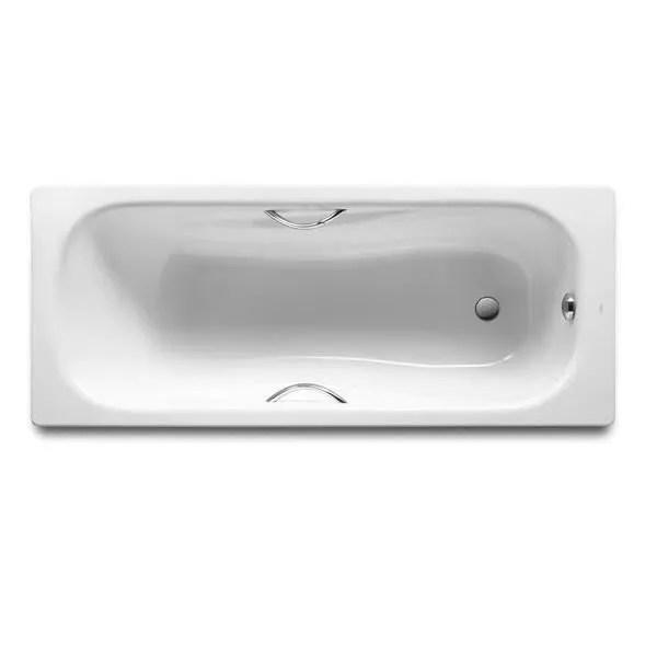 roca baignoire princess 150x75 blanc