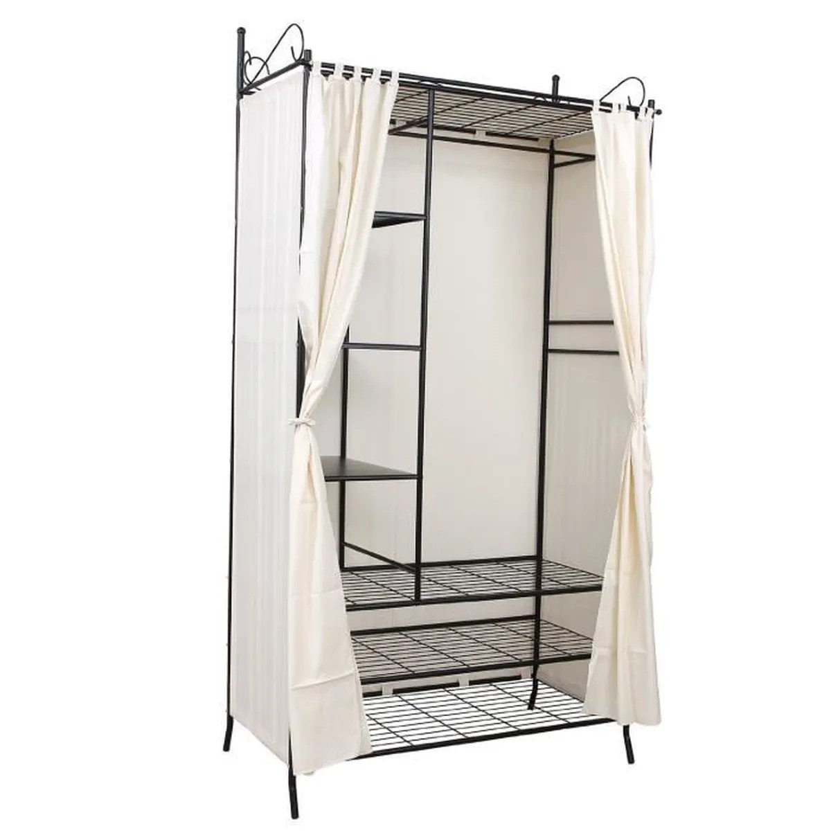 Penderie Cdiscount Finether Cubes Armoire Penderie