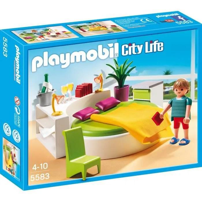 PLAYMOBIL 5583 Chambre avec Lit Rond  Achat  Vente univers miniature  Cdiscount