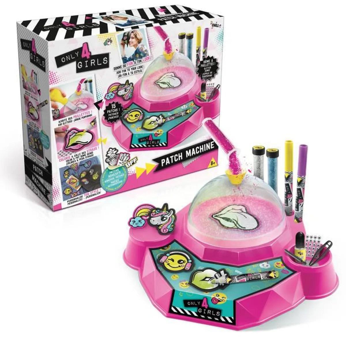 ONLY 4 GIRLS Patch Machine DIY Achat Vente Jeu De