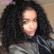 perruque afro noire style