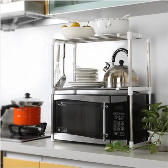 Etagres de cuisine Meuble rangement cuisine de service en