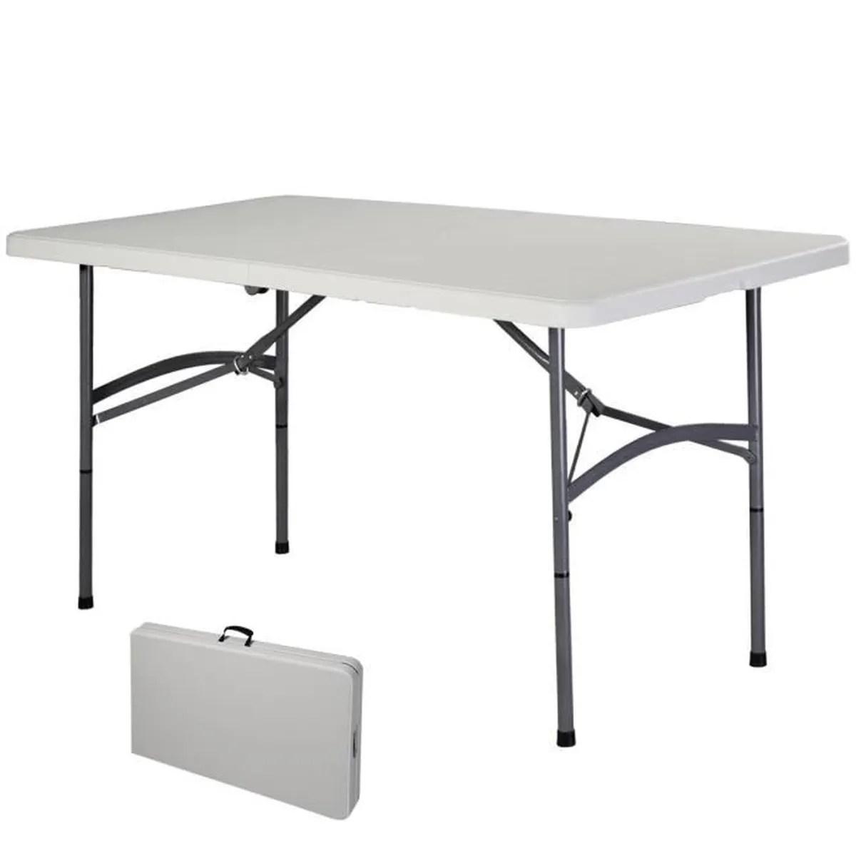 Table De Jardin Pliante Lafuma | Table Carrée Pliante Anytime De ...