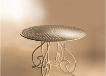 Table De Jardin Ronde En Fonte | Comparatif Tables De Jardin à ...