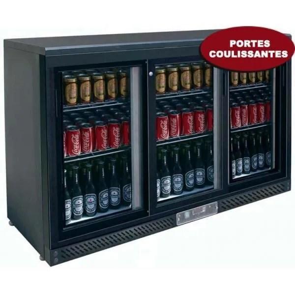 Frigo Bar 3 Portes Coulissantes Achat Vente Armoire A