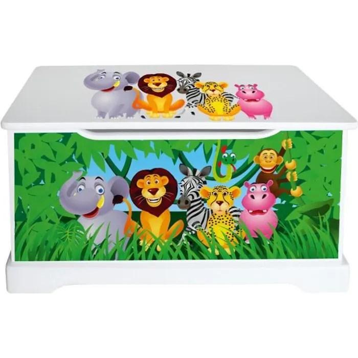 Coffre  jouets Animaux de la Jungle  Achat  Vente