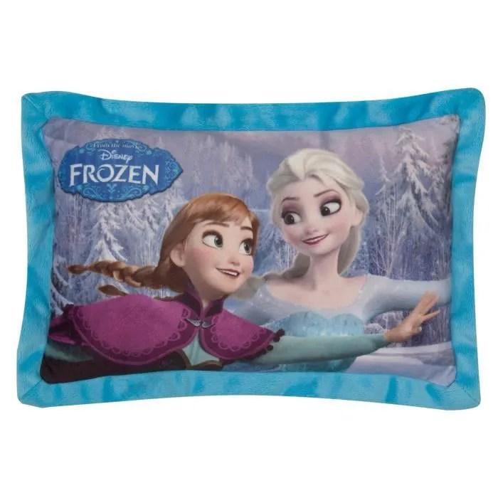 la reine des neiges coussin oreiller rectangulaire