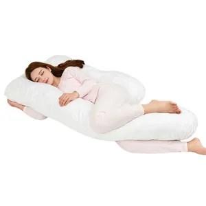 coussin allaitement maternite oreiller oreiller de corps case amovi