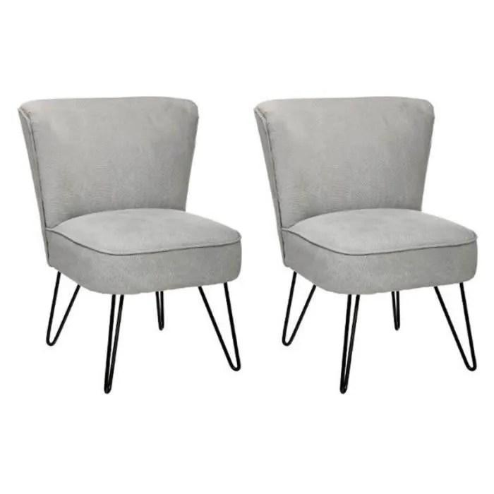 fauteuil paris prix lot de 2 fauteuils design sevven gr