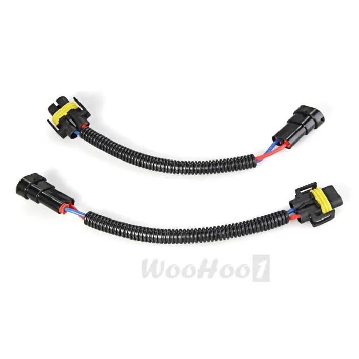 CARCHET 2 x Cable Conversion Adaptateur Connecteur pour