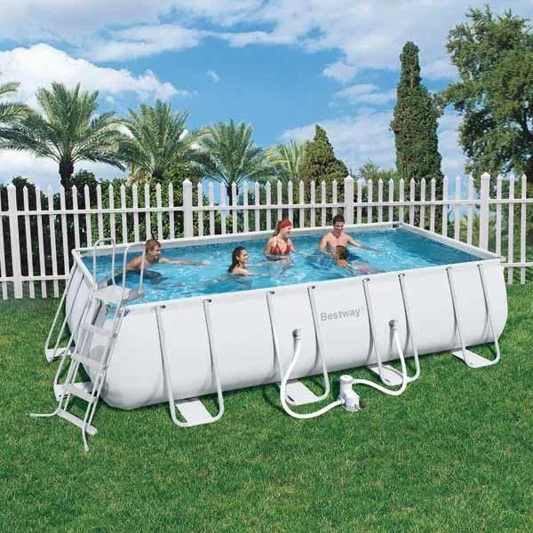 Piscine Bestway Tubulaire 549cmX274cmX122cm  Achat  Vente piscine Piscine Bestway Tubulaire