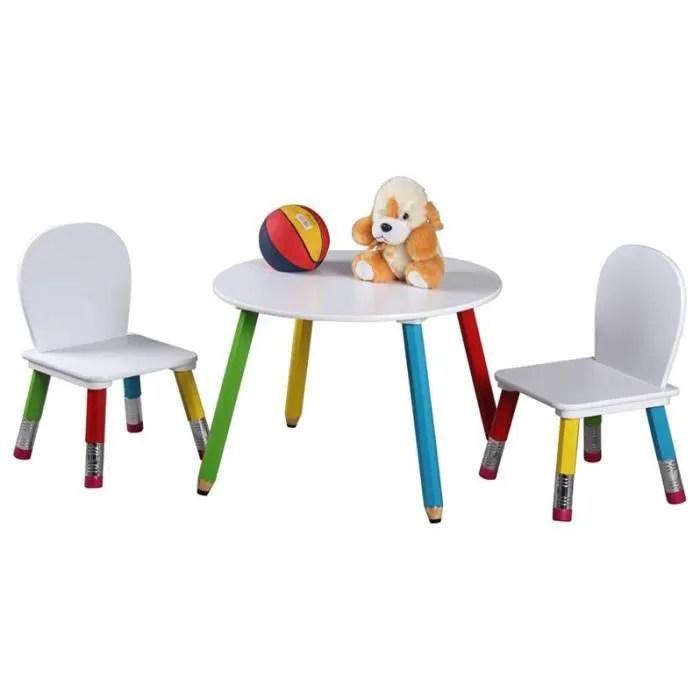 Table Et Chaise Enfant Les Bons Plans De Micromonde