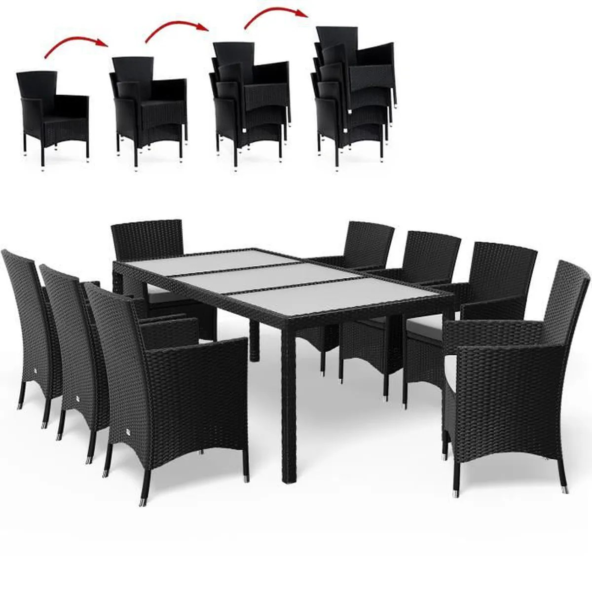 Table Exterieur Jardin | Eclairage Exterieur Jardin Gifi