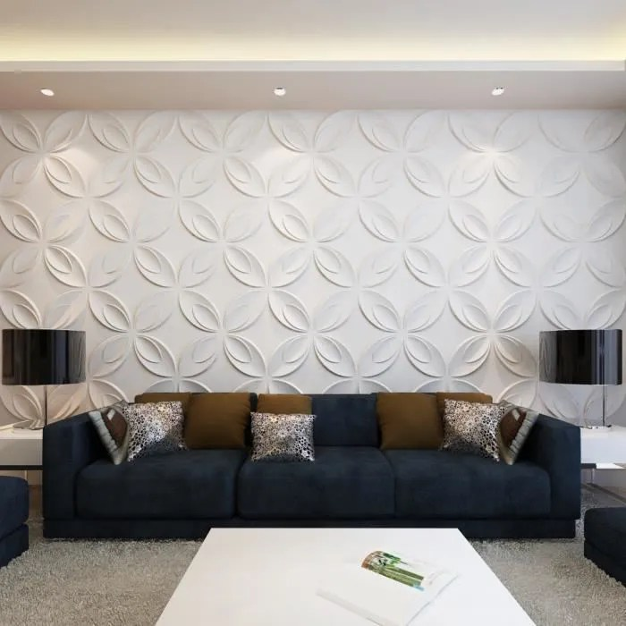 Panneaux muraux 3D 03 m x 03 m 66 panneaux 6 m  Achat