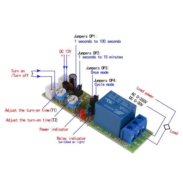 12 Volt Relay Wiring Diagram For Dryer