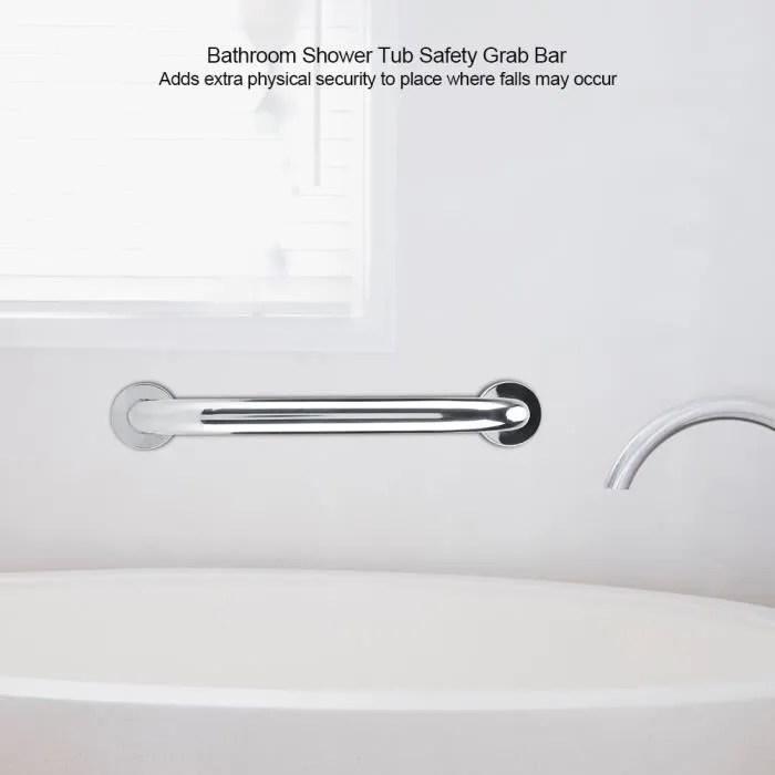 barre d appui inox poignee de baignoire pour wc toilette salle de bain douche securite salle de bain 30cm