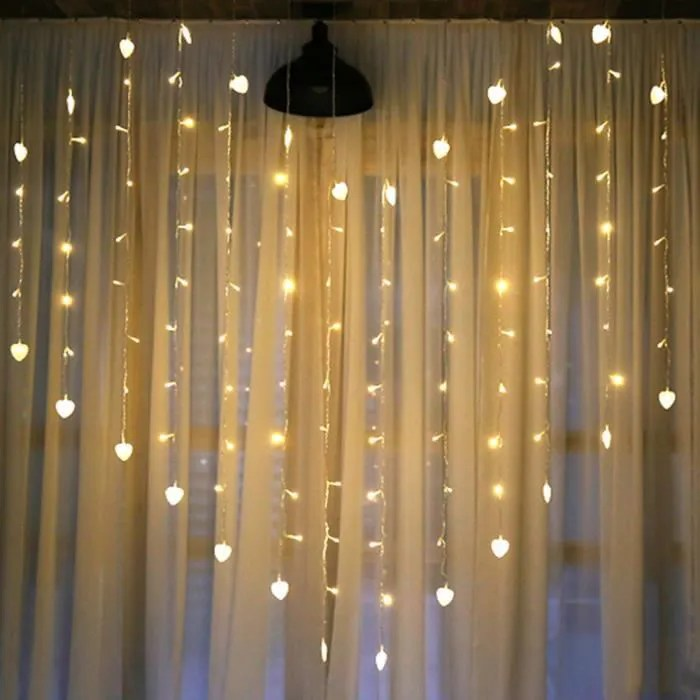 Guirlande lumineuse interieure clignotante  Achat  Vente Guirlande lumineuse interieure