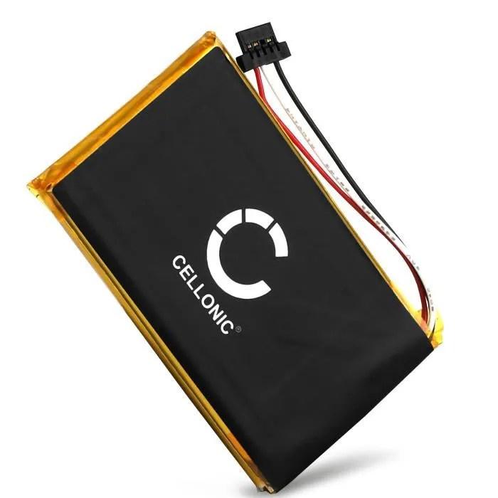 Batterie pour Navigon 70 Plus / 70 Premium / 70 Premium