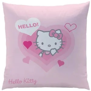 coussin coussin carree 40x40 cm hello kitty lucie