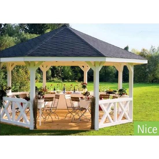 Pavillon de Jardin en Bois Nice Epaisseur Potea  Achat