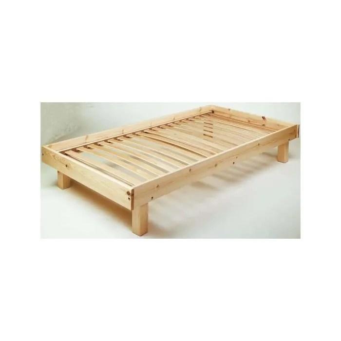 cadre de lit en bois galaxy
