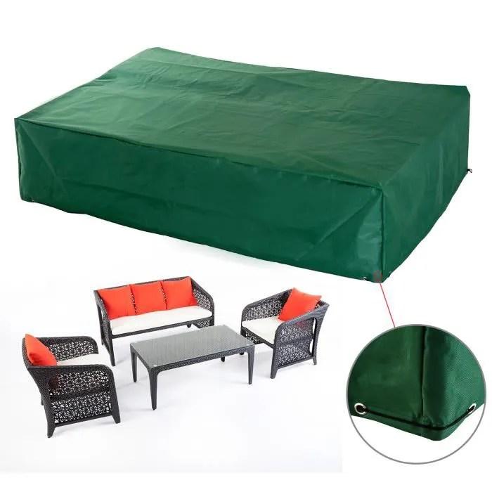 HOUSSE DE PROTECTION SALON DE JARDIN  Achat  Vente housse meuble jardin HOUSSE  Cdiscount