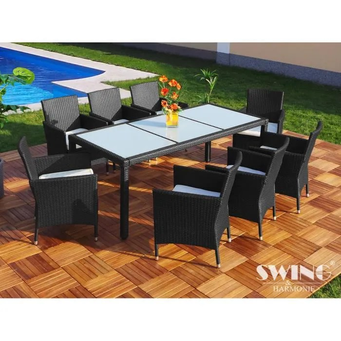 Salon Bas Resine Tressee. Affordable Table De Jardin En Resine ...