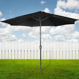 parasol parasol de jardin impermeable avec manivelle m