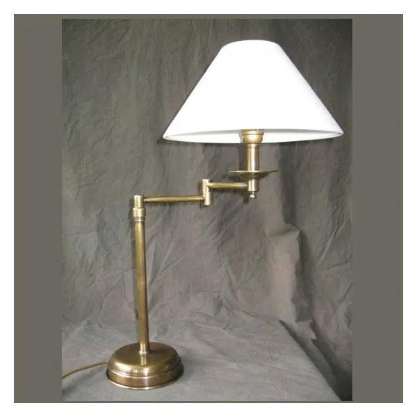 Lampe Salon Elegance reglable  Achat  Vente Lampe Salon Elegance reglable Laiton coton bois