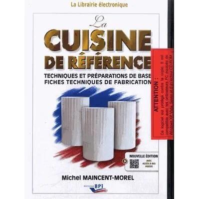 livre technique cuisine professionnel