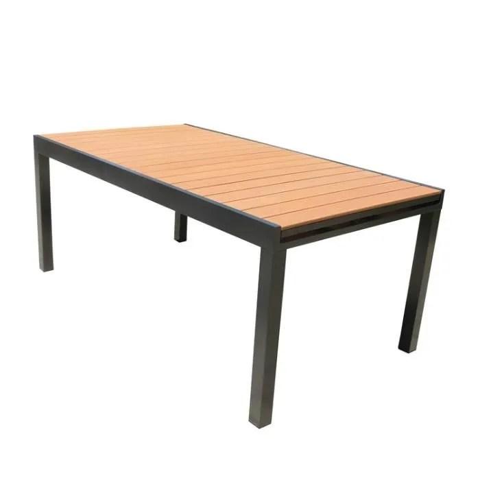 Table Jardin Composite Blanc - Décoration de maison idées de design ...