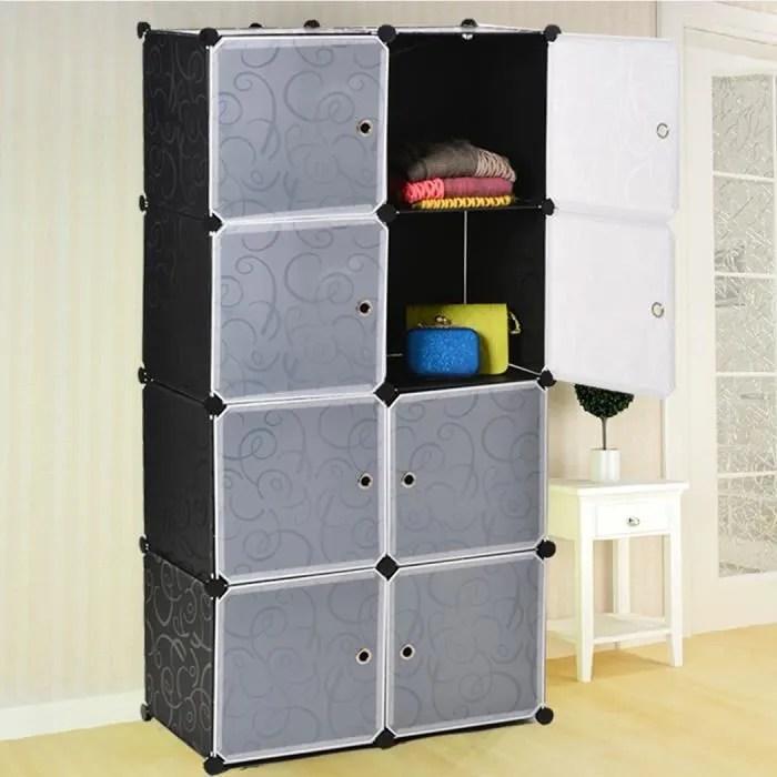 etagere souple meuble de rangement armoire penderie bricolage en