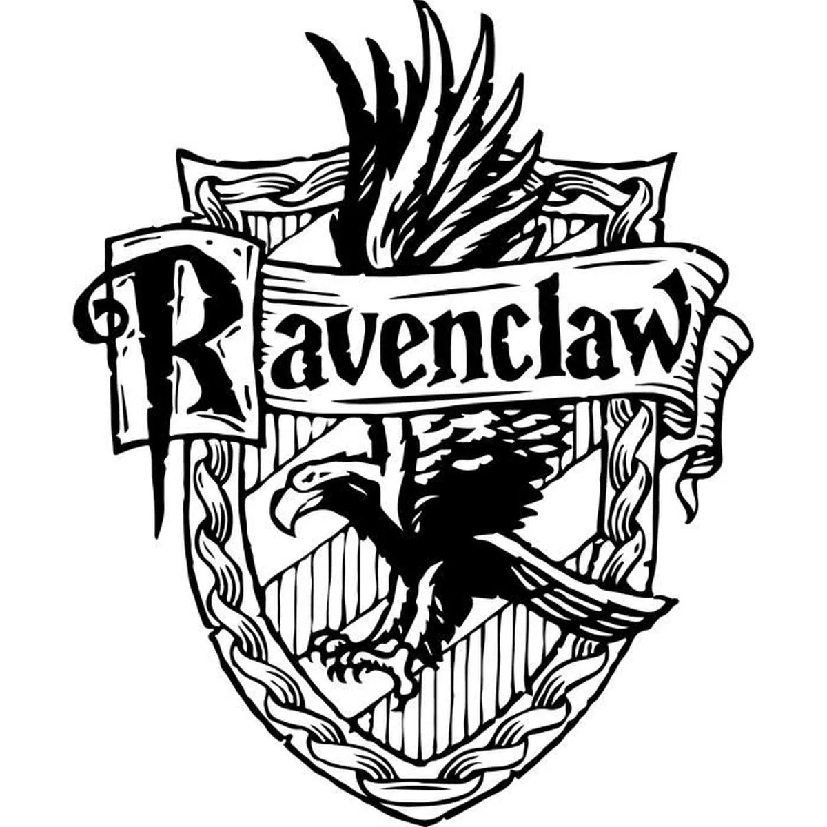 Slytherin House Coloring Pages Sticker Harry Potter 113 Ravenclaw 57x69 Cm Achat