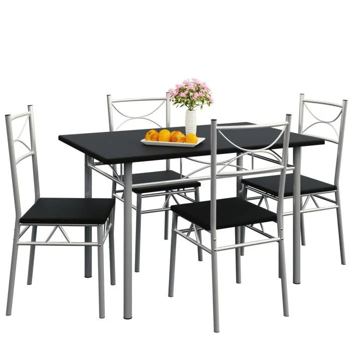 Ensemble tables et chaises Paul  Set 5 pcs  Achat  Vente table de cuisine Ensemble tables
