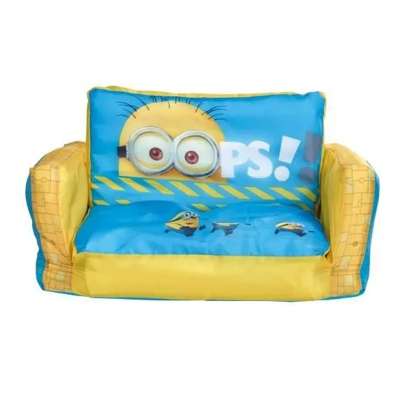 Canap lit transformable fauteuil gonflable Minions