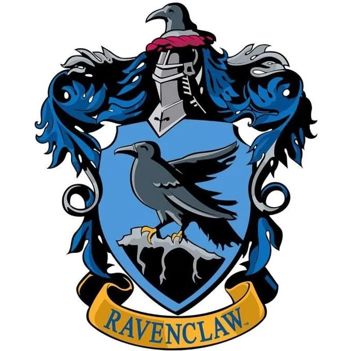 Blason En Carton Maison Serdaigle Poudlard Harry Potter