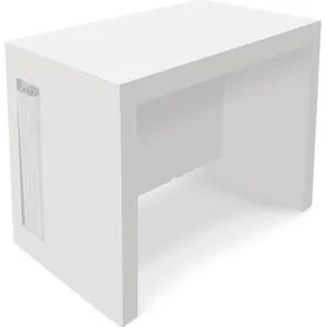 Table Extensible Laquee Blanc