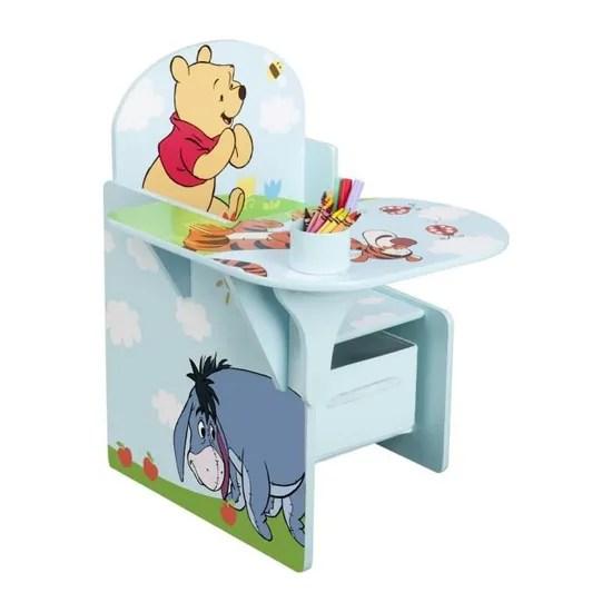 bureau chaise winnie l ourson 45 7 x 57 8 x 58 4 cm achat vente bureau bebe enfant cdiscount