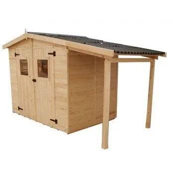 abri de jardin bois en panneaux 16 mm avec plan  Achat  Vente abri jardin  chalet abri de