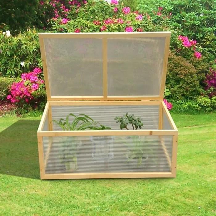 Mini serre de jardin serre  tomates 100L x 66l x 40H cm