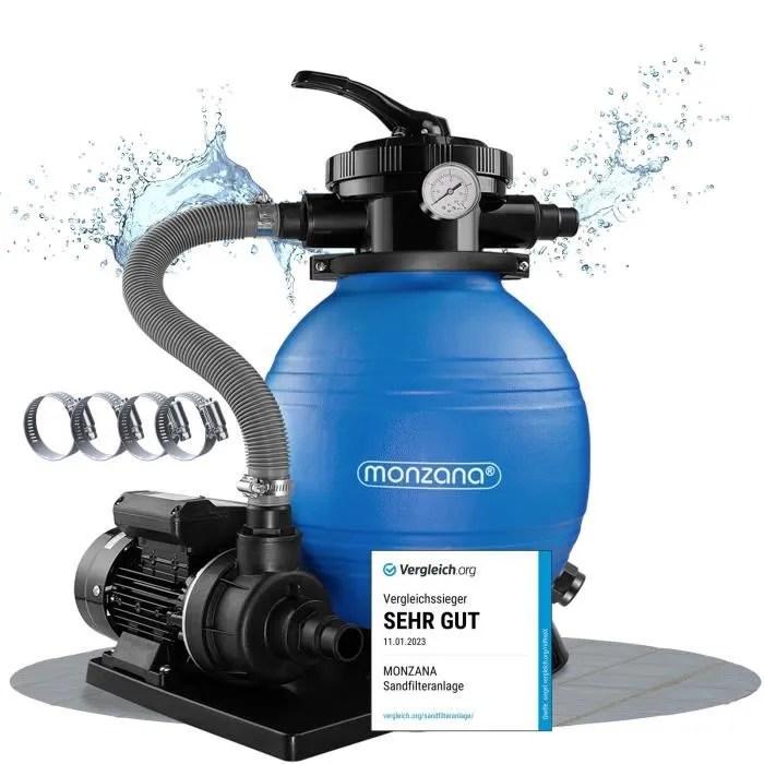 Pompe Filtre A Sable Et Particule