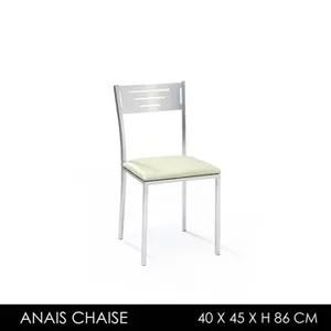 anais chaise inox robuste