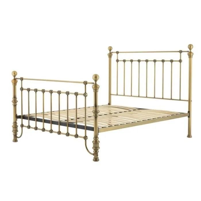 casa padrino lit en laiton antique de luxe 187 x 225 5 x 152 5 cm h mobilier design